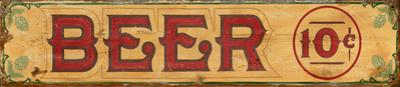 Beer Wood Sign