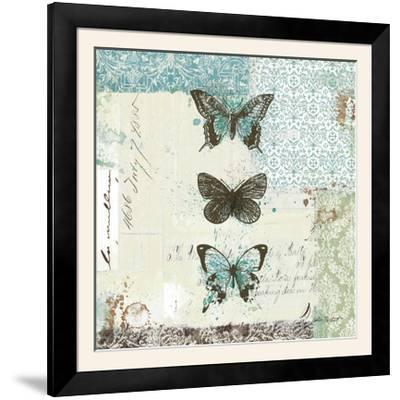 Bees n Butterflies No. 2-Katie Pertiet-Framed Photographic Print