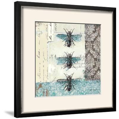 Bees n Butterflies No. I-Katie Pertiet-Framed Photographic Print