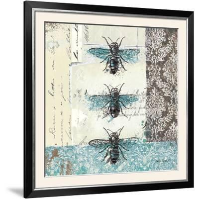 Bees n Butterflies No. I-Katie Pertiet-Framed Photographic Print
