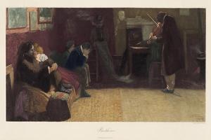 Beethoven after Lionello Balestrieri