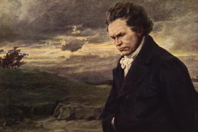 Beethoven, Walking--Giclee Print