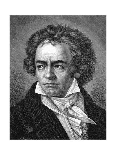 Beethoven-A Close-Giclee Print
