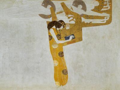 Beethovenfrieze, Allegory of Poetry-Gustav Klimt-Giclee Print