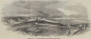 Before Delhi, the Observatory, Etc, from the Flagstaff Tower