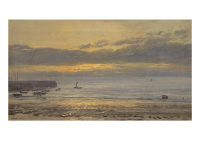 Before Sunrise, Scarborough - Low Water, 1878-Henry Moore-Giclee Print
