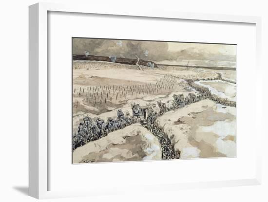 Before the Attack-Andre Devambez-Framed Giclee Print