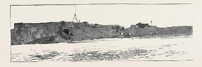 Before the Bombardment of Alexandria, July 7, 1882: Omuk Kubebeh Fort, Kamania Fort--Giclee Print