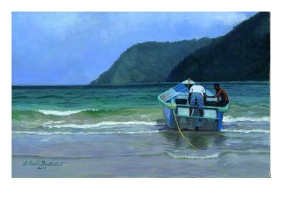Before The Catch-Colin Bootman-Giclee Print