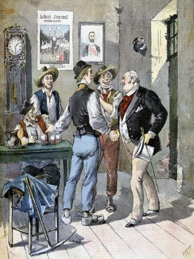 Before the Election, 1893-Henri Meyer-Giclee Print