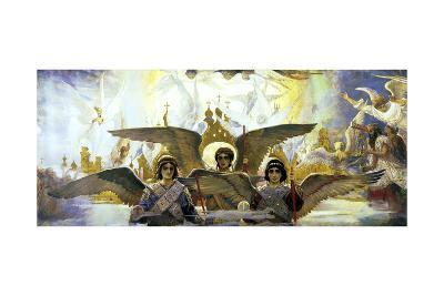 Before the Paradies, (Central), 1885-1896-Viktor Mihajlovic Vasnecov-Giclee Print