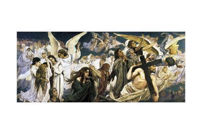 Before the Paradise, (Left), 1885-1896-Viktor Mihajlovic Vasnecov-Giclee Print