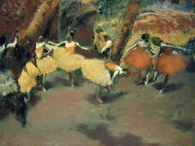 Before the Performance-Edgar Degas-Giclee Print