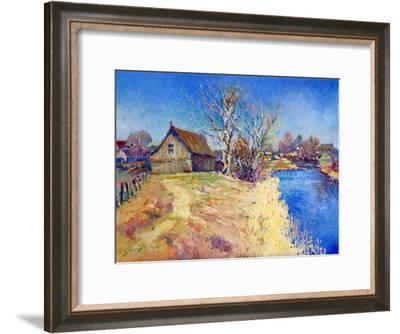 Before The Springs Sunny Day-Suren Nersisyan-Framed Art Print