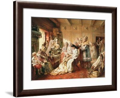 Before the Wedding, 1890-Konstantin Egorovich Makovsky-Framed Giclee Print