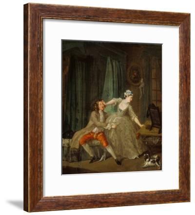 Before-William Hogarth-Framed Art Print