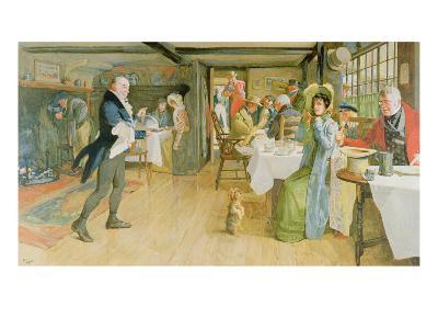 Begging for Supper-Cecil Aldin-Giclee Print