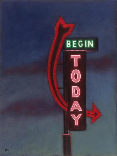 Begin Today, 2009-David Arsenault-Giclee Print