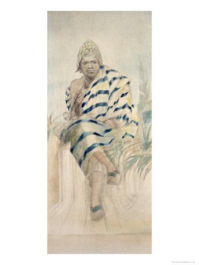 Behanzin the Last King of Dahomey--Giclee Print