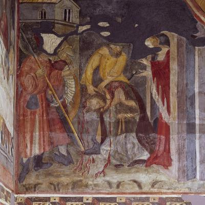 Beheading, Detail from Life of John the Baptist, Cycle of Frescoes, 1405-1435--Giclee Print