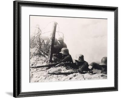 Behind Enemy Lines--Framed Photo