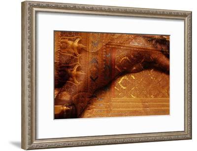 Behind Gold-Daniel Stanford-Framed Art Print