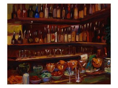 Behind the Bar, Florence-Pam Ingalls-Giclee Print