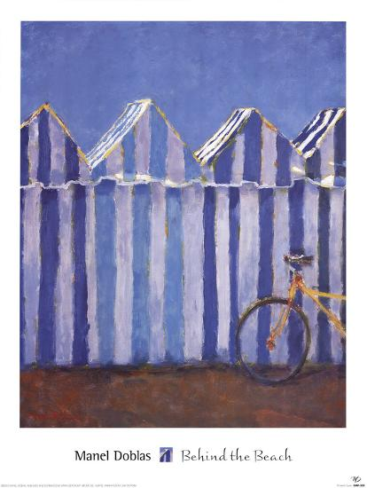 Behind the Beach-Manel Doblas-Art Print