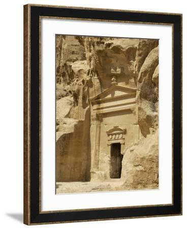 Beida (Little Petra), Nabatean Site Near Petra, Jordan, Middle East-Sergio Pitamitz-Framed Photographic Print
