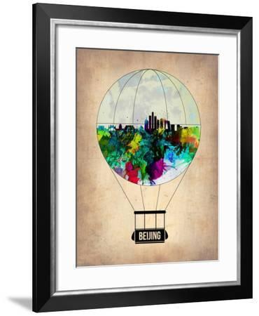 Beijing Air Balloon-NaxArt-Framed Art Print