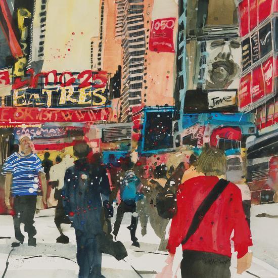 Being Part - New York-Susan Brown-Giclee Print