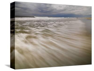 Being the Sea #1-Derek Jecxz-Stretched Canvas Print
