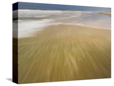 Being the Sea #3-Derek Jecxz-Stretched Canvas Print