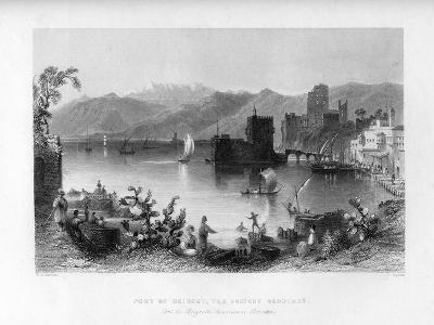 Beirout, the Ancient Berothah, Syria, 1841-J Appleton-Giclee Print