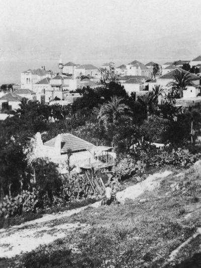 Beirut from the American College, Lebanon, C1927-C1931--Giclee Print