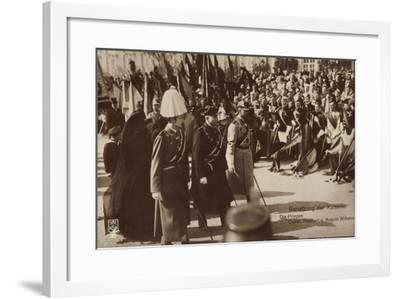 Beisetzung Der Kaiserin, Oskar, Adalbert, A. Wilhelm--Framed Giclee Print