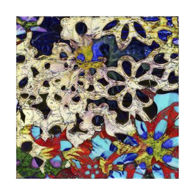 Bejeweled Woodblock I-Ricki Mountain-Art Print
