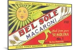 Bel Sole Macaroni Label