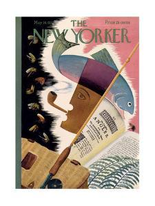 The New Yorker Cover - May 14, 1932 by Bela Dankovszky