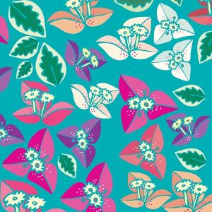 Flowers, Bugambiilla Color by Belen Mena