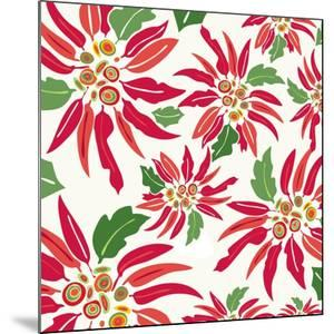 Flowers, Chistmas Star Flower Color by Belen Mena