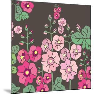 Flowers, Malvarrosa Color by Belen Mena
