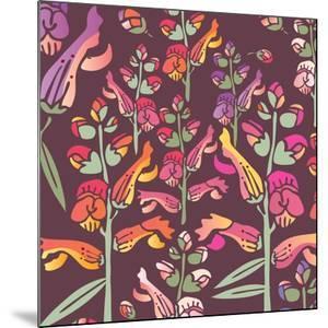 Flowers, Snapdragon Color by Belen Mena