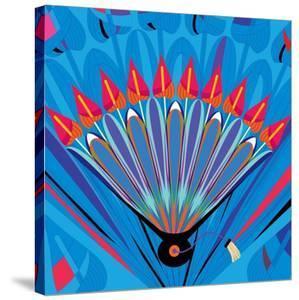 Nature Fan, Anturio Color by Belen Mena