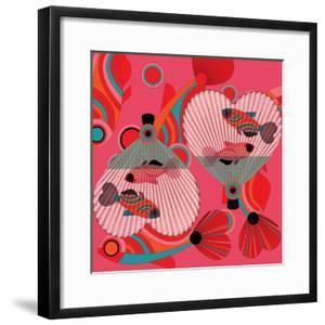 Nature Fan, Fish Color by Belen Mena