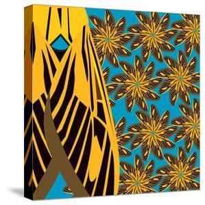 Yellow Pinwheels Made of Moths by Belen Mena
