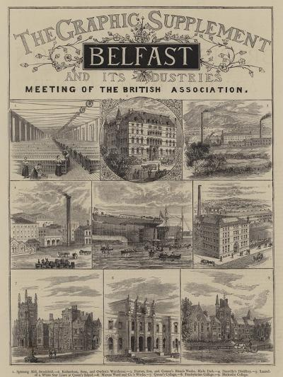 Belfast and its Industries--Giclee Print