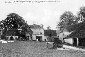 Farm of Hougoumont, an Important Strategic Site for Wellington During the Battle of Waterloo,… by Belgian Photographer