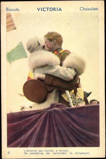 Belgisches Königspaar Astrid Und Leopold III--Giclee Print