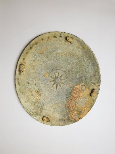 Belgium, Brussels, Bronze Disk--Giclee Print
